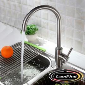 Vòi rửa bát 2 đường nước chất liệu sus304 Mã VB 34 Gia 630
