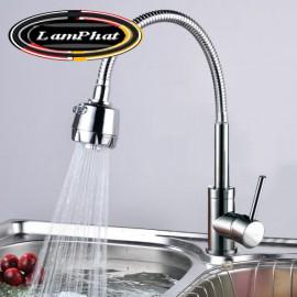 Vòi rửa bát cần mềm chất liệu sus304 Mã VB 30 Giá 650